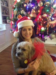 Sadie & I at Christmas last year!