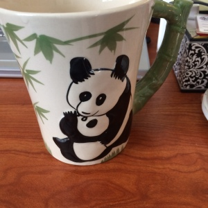 Any morning that starts with a panda mug cannot be that bad, right?